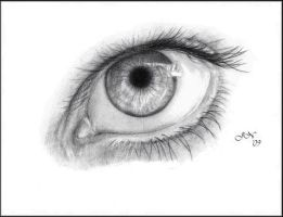 An Eye Study by JoannaMoory