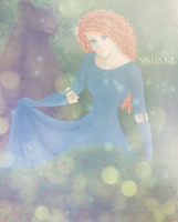 Princess Merida by Nikmarvel