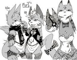 fur oC 2 ch line up 1 tone by phation
