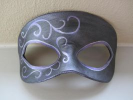 Simple Purple masquerade mask by maskedzone