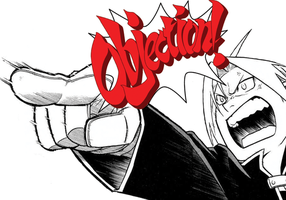 Edward Elric Objection by franky-style