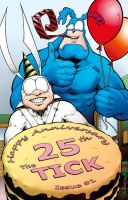 The Tick 25th Anniversary Colours by DRedhead