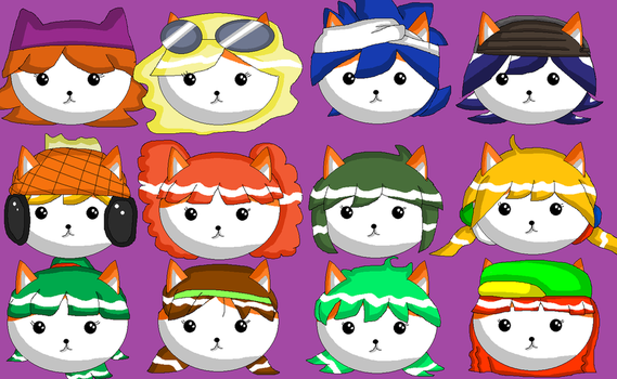 My favorite characters from my favorite games! by Daniela56438