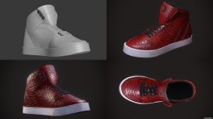 CG Shoe - Work In Progress by 1-k-0