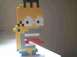 Lego Homer Simpson by Enlightenup23