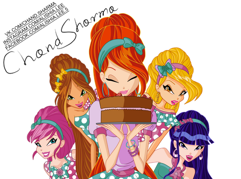 Would you like some cake? PNG by ChandSharma