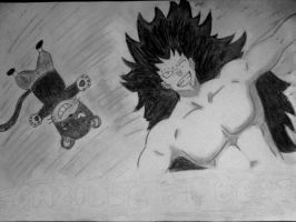 Gajeel and Lily by szmozes888