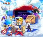Sonic Skyline: FF Delivery Service by Drawloverlala