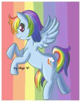 Rainbowish :D by MeguBunnii