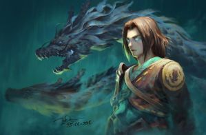 young hanzo by letrongdao