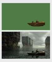 BOAT Matte Painting 1 by AnthonyDevine