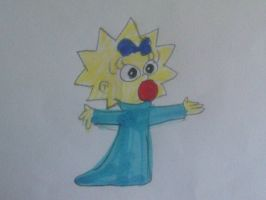 Maggie Simpson by MIXTOONS