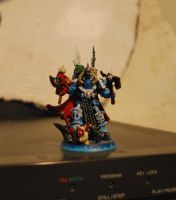 My brother's Chaos Lord by Soap9000