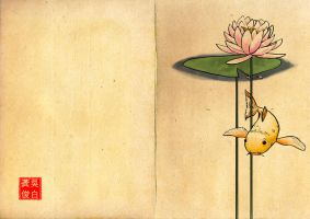 The Carp and the Water Lilly by ScandinavianLullaby