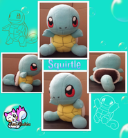 Squirtle Plushie by Ami-Plushies