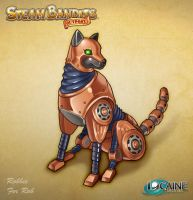 Steam Bandits Outpost Companion: Robbie the Dog by Shattered-Earth