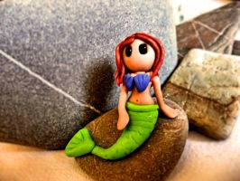 Fimo mermaid by ugnip