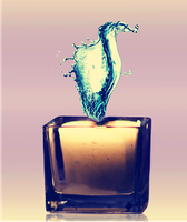 water candle by starlaa1