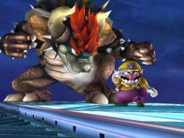 Giga Bowser???.....Where??? by nintenerd