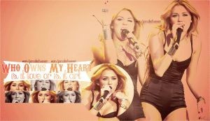 Miley_Wallpaper_ by jonatick4ever