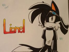 Lionel 'Leo' The Fox Sharpie .:Gift:. by KrystaliaProductions