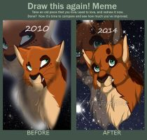 Meme: Before and After by VitaniFox85
