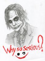 Why so serious? by KamuiHAX