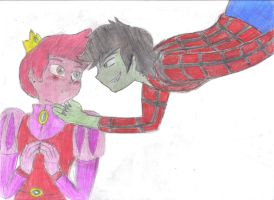 RQ - Prince Gumball and Marshal Lee by JCMX