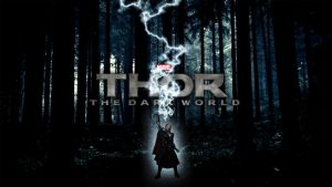 Thor: The Dark World | Wallpaper by Squiddytron