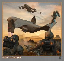 Hot Landing by Rob-Caswell