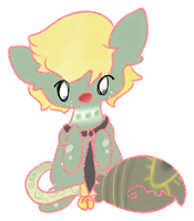 Fern and Marc Sticker by Ambercatlucky2