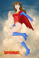 Superhawke in the sky by Dangerman-1973