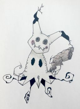 Mimikyu by MichelaBleh