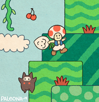 Super Mario Bros. 2 by Paleona