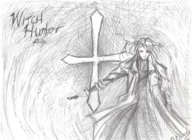Witch Hunter Robin-RoughSketch by Ark-of-Menphis
