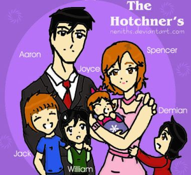 The Hotchners by neniths