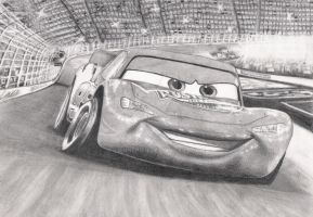 Cars: Lightning McQueen by Liennepien
