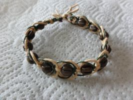 light elegant macrame bracelet by were-were-wolfy