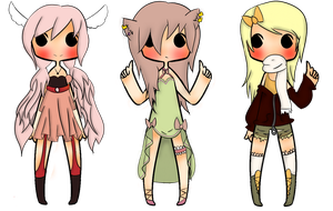 Adoptables by Mz--Hyde