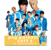 PNG Pack#31 - GOT7 2 by darknesshcr