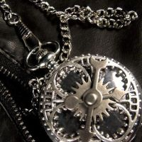 Mad Hatter Geared Pocketwatch by Om-Society