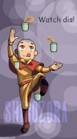 Tea Buddies: Aang by Shirozora