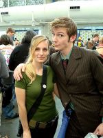 SDCC08 - Doctor and Daughter by zvko