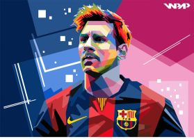 Lionel Messi WPAP #2 by IlhamPutrangga