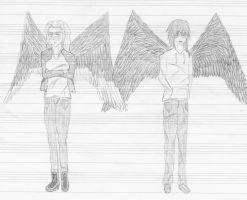 Maximum Ride - Max and Fang by Tuturne