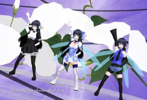 WIP 2 - MMD OC by LunarBerry