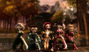 Guild Wars 2: My Asura Chars by MADt2