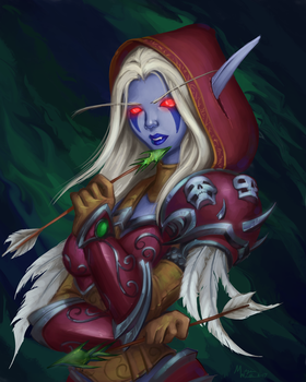 Sylvanas by teriopi