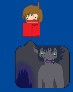 Eddsworld Jon reading Two are Worser than One by Barrel2s1cool