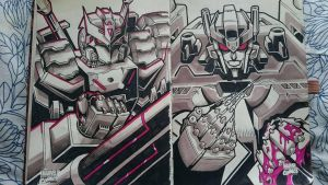 Marker Practice 12: Tarn and Overlord by Natephoenix